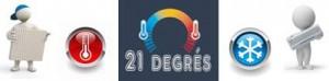 21 Degres Vente d'appareils de chauffage et de climatisation