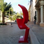 Sculptures Rue Hyeres 2014