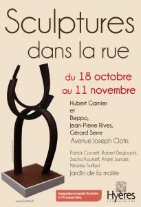 #Sculptures #rue #Hyères