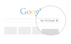 OK GOOGLE : la recherche vocale